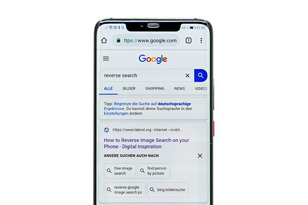téléphone résultats de recherche balise title seo